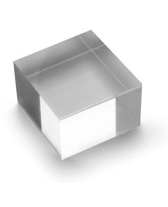 Bloc plexiglas d'agencement 75 x 50 x 75 mm
