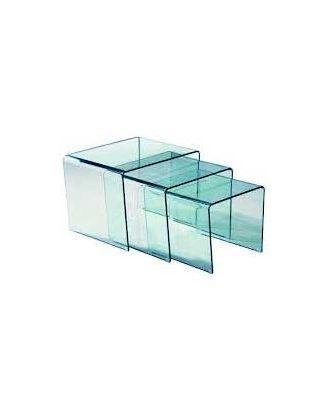Kit de 3 ponts en plexiglas transparent