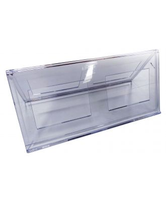 Chevalet porte nom plexiglas 100 x 220 mm PPK776