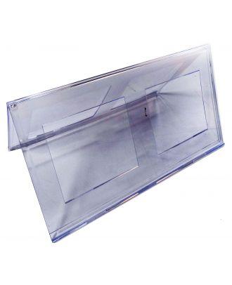Chevalet porte nom plexiglas 210 x 297 mm PPK779