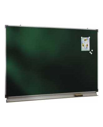 Tableau d'écriture émaillé vert NF 100 x 200 cm