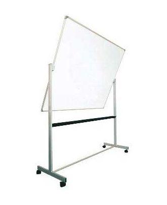 Tableau rotatif émaillé 90 x 120 cm avec axe horizontal