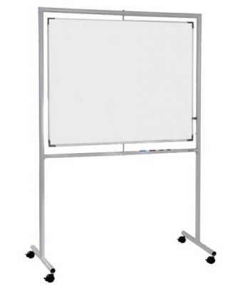 Tableau blanc rotatif axe vertical