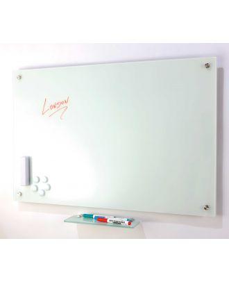 Tableau en verre blanc 60 x 90 cm magnétique