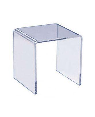Podium plexiglas U carré 300 x 300 x 300 mm