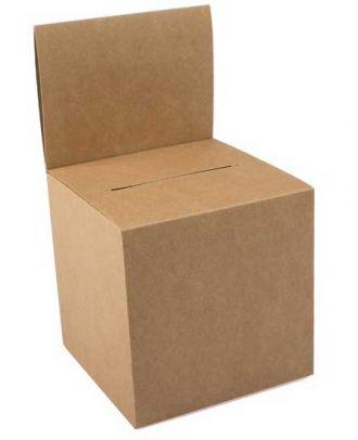 Urne carton vierge KRAFT15