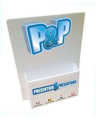 Porte brochures A5 CRT16 personnalisé